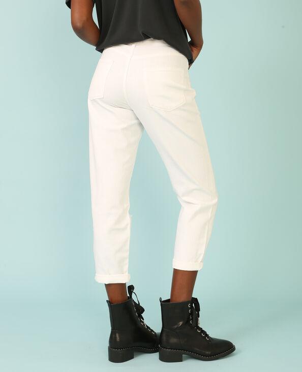 Jeans girlfriend blanco