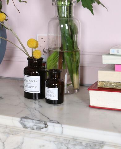 Vase en verre coloré caramel