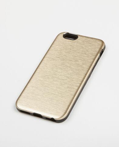 Coque compatible iPhone 6/6S doré
