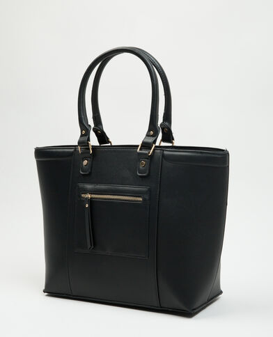 Grand sac rigide noir