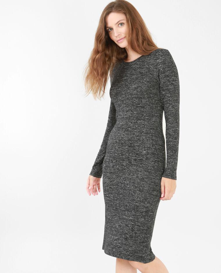 Robe pull longue gris 781213817j08 pimkie - Kleider pimkie ...
