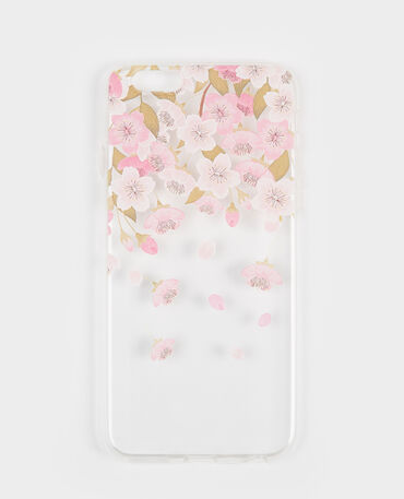 Carcasa compatible con iPhone rosa