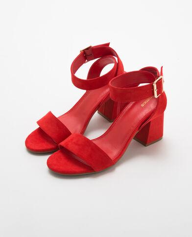 Zapatos De Tacon Bonitos Rojos