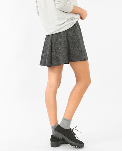 Jupe patineuse gris anthracite