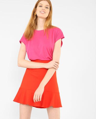 T-shirt fluide rose