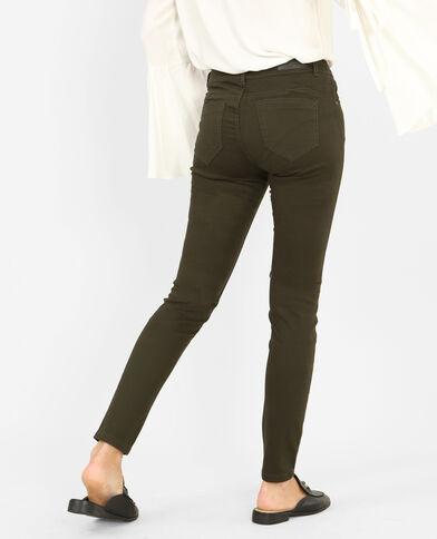 Push-up Skinny Jeans Khaki