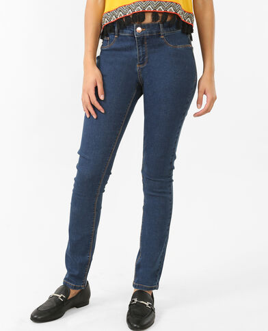 Basic jegging donkerblauw