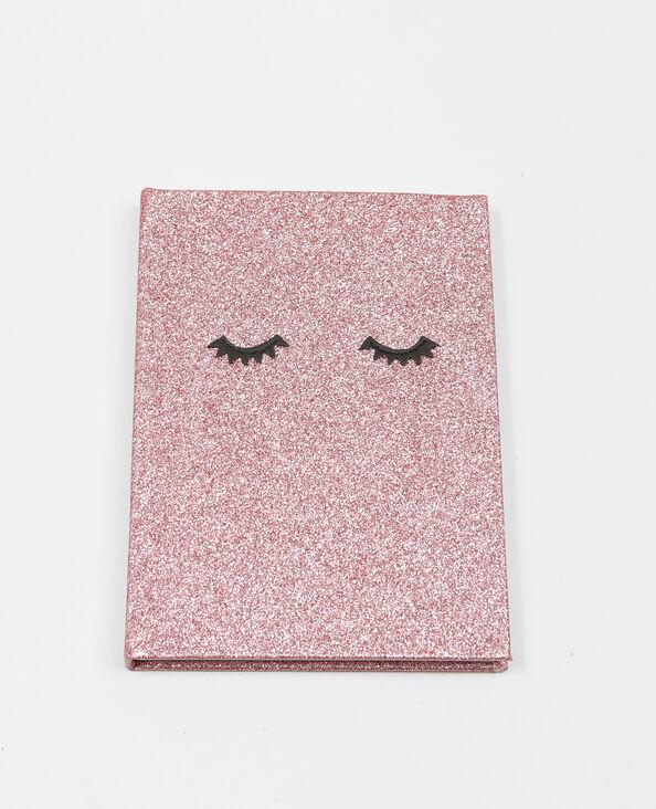 Notebook glitter rose