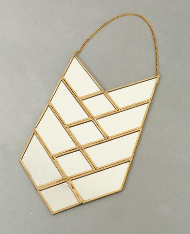 Spiegel in Pfeilform Gold
