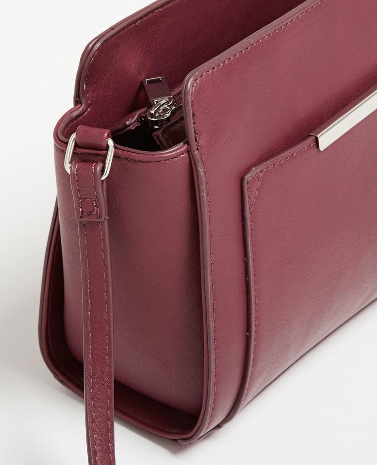 kleine tasche in trapezform granatrot 902463361a03 pimkie. Black Bedroom Furniture Sets. Home Design Ideas