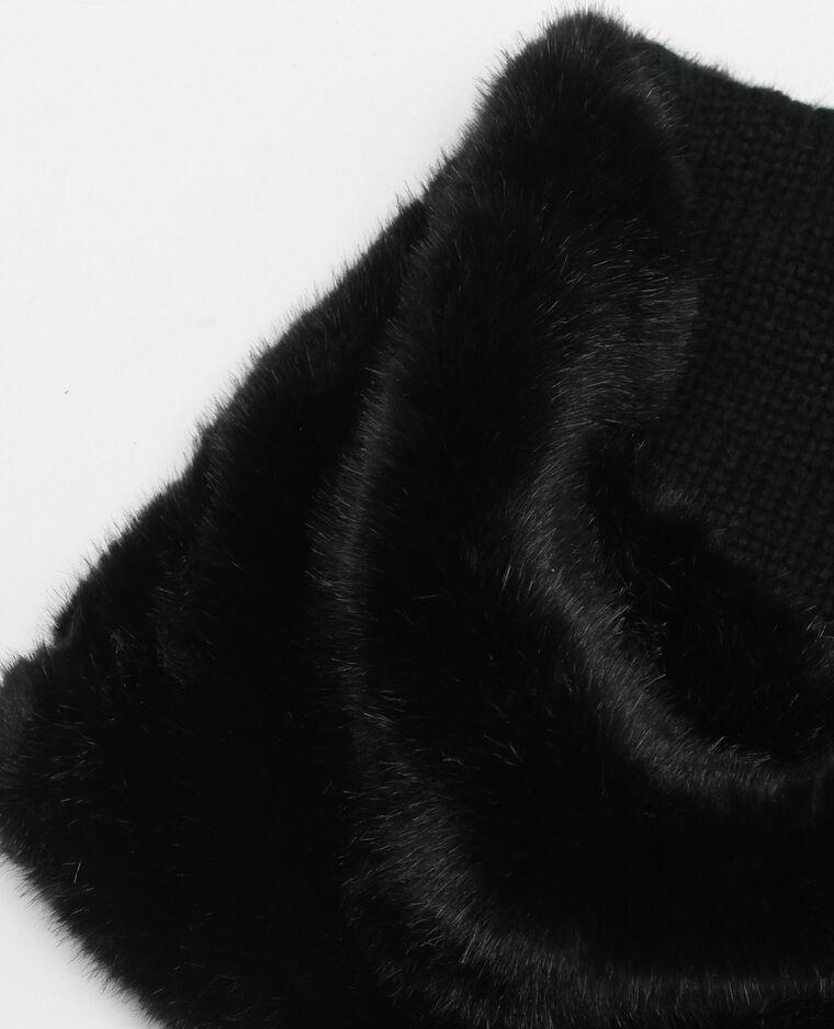 snood fausse fourrure noir 916054899a08 pimkie. Black Bedroom Furniture Sets. Home Design Ideas