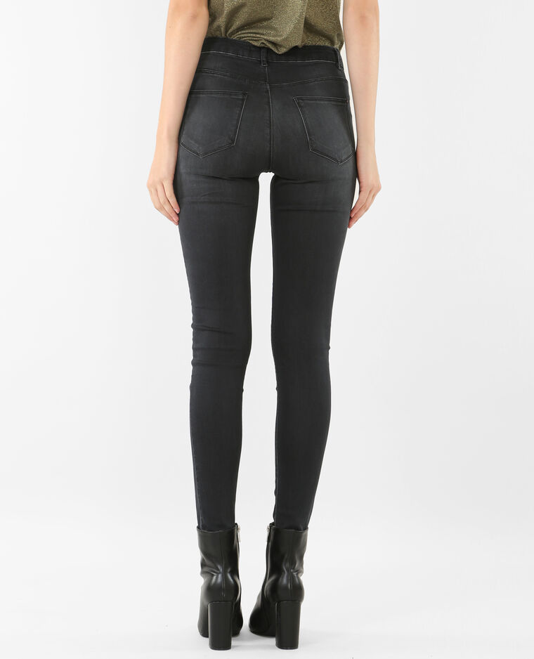 Jeggings mit hoher Taille Grau