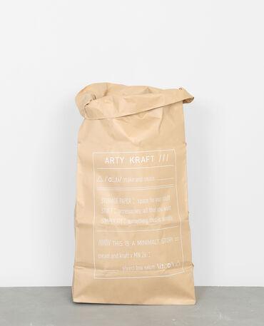 Paper bag ARTY KRAFT Beige