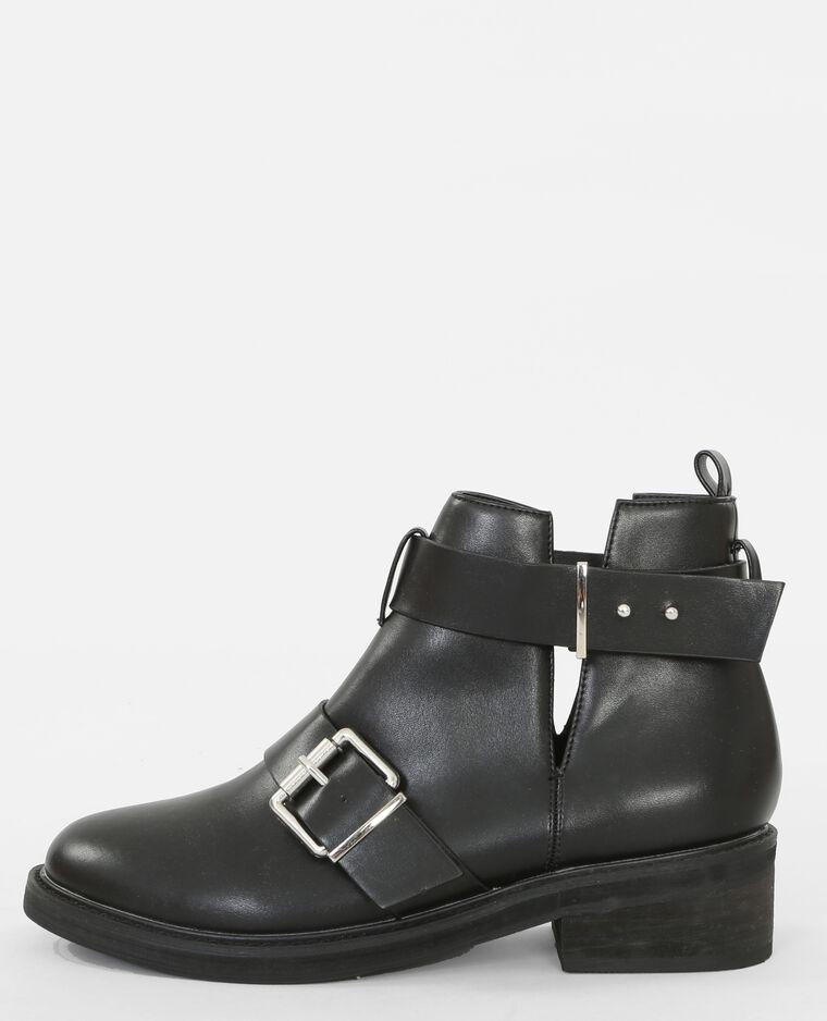Boots motardes noir