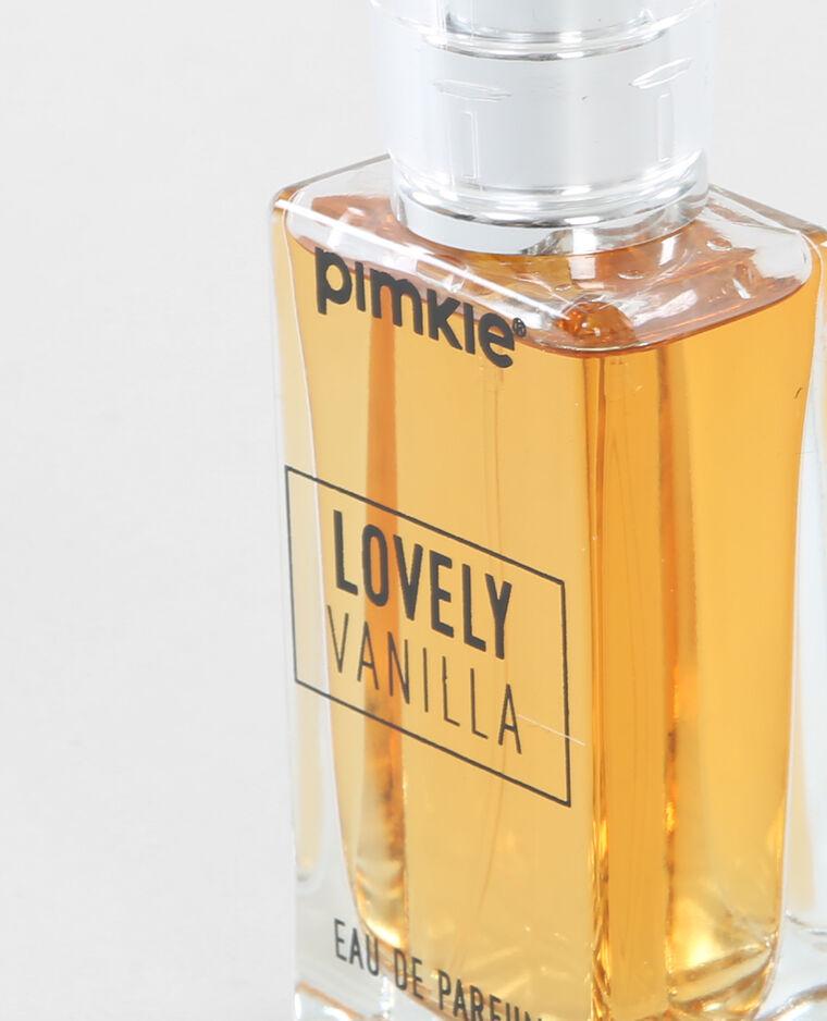 Eau de parfum vanille jaune