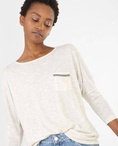 Camiseta Beige