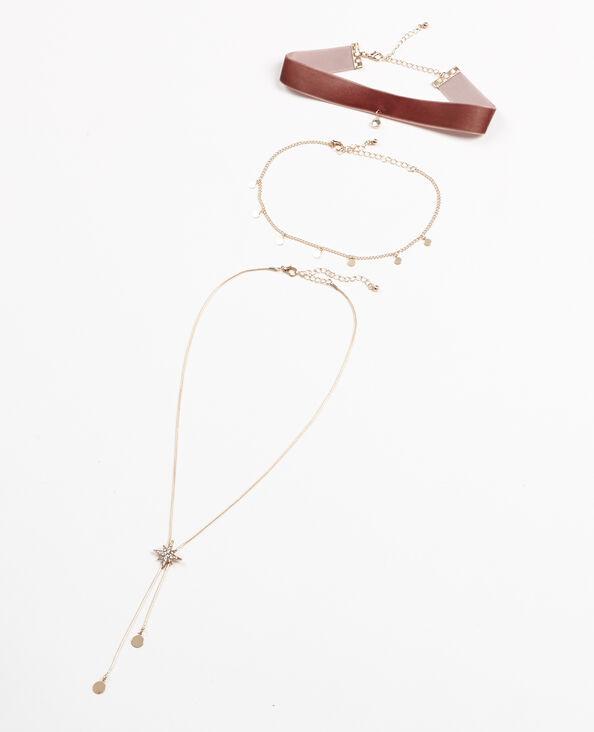 Mehrreihige Halskette Silber