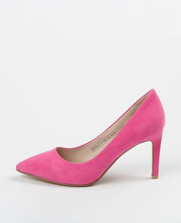Zapatos de tacón con punta Rosa