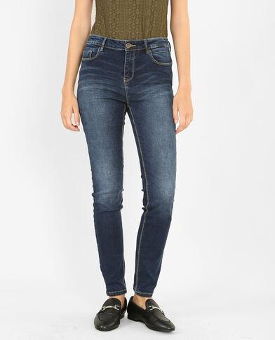 Skinny Push-up-Jeans Blau