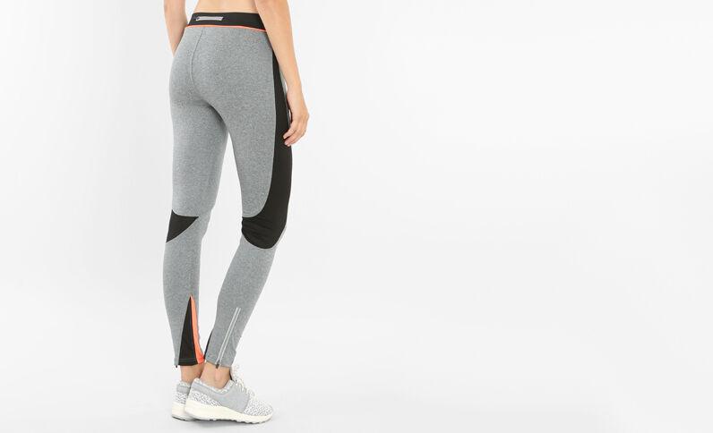 Legging sport gris chiné