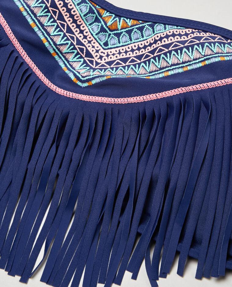bandeau bikinioberteil im ethno stil mit fransen blau 902339663f4a pimkie. Black Bedroom Furniture Sets. Home Design Ideas