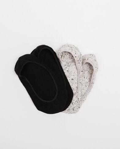 Set van discrete sokken zwart