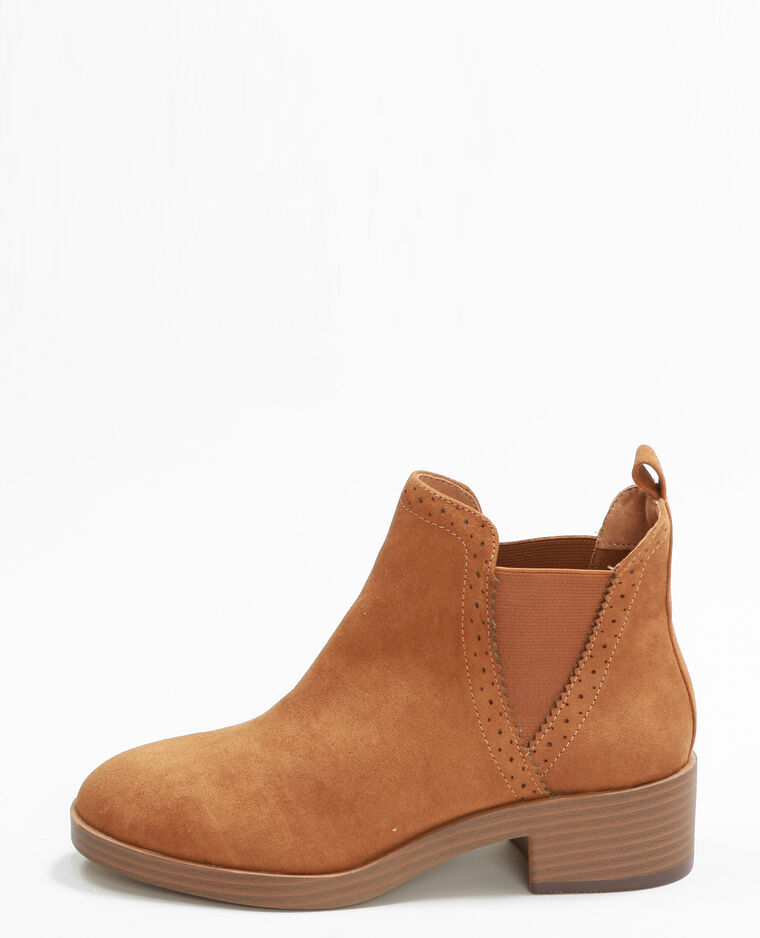 Botas Chelsea marrón