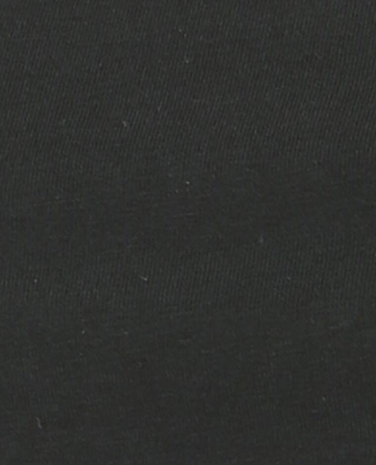 Einfaches Top Schwarz