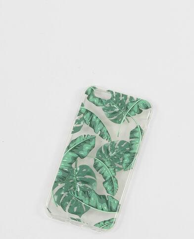 Coque iPhone 6 palmiers vert