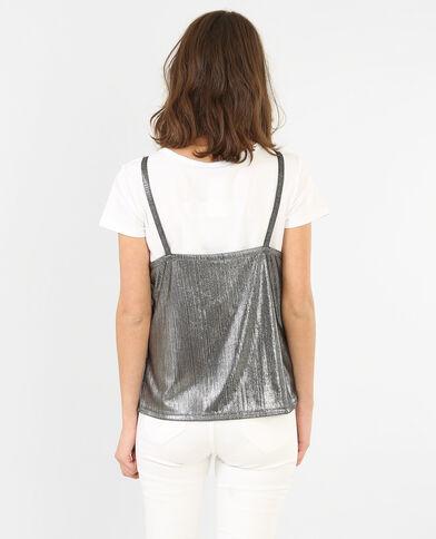 T-shirt 2 in 1 bianco