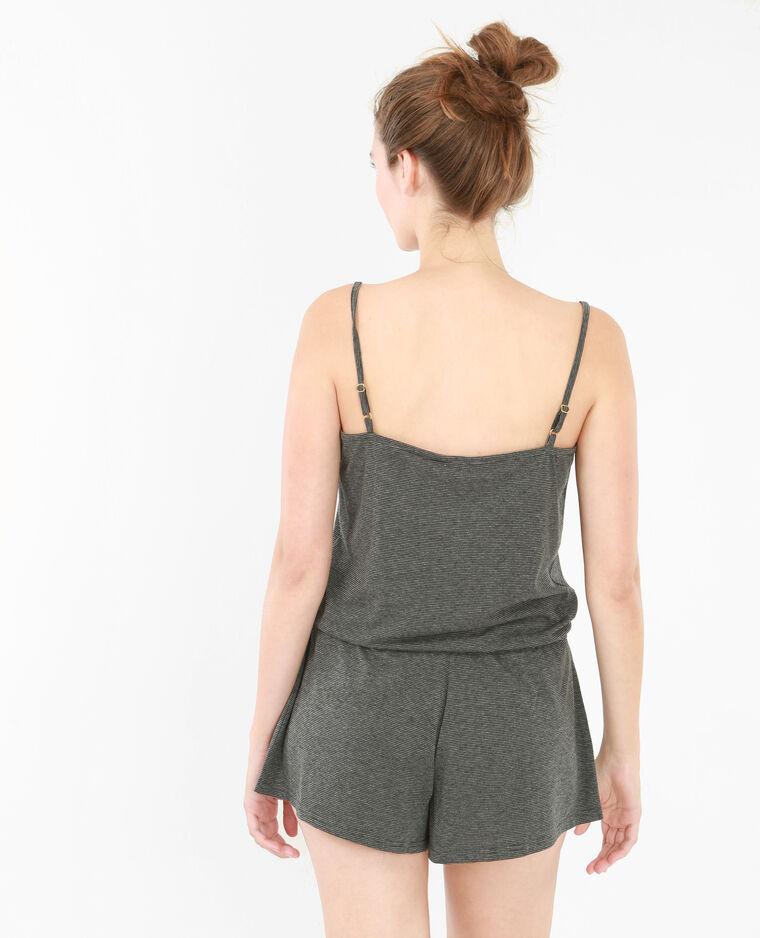 Mono corto homewear negro