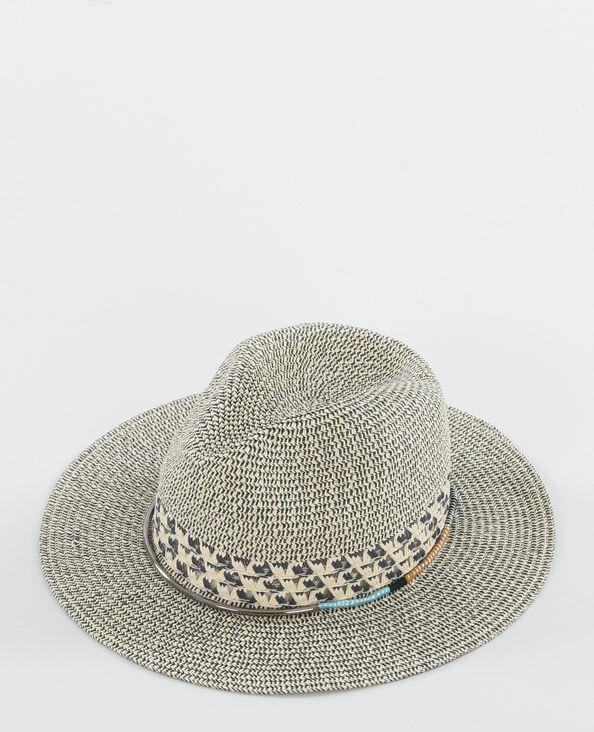 Chapeau fedora bleu
