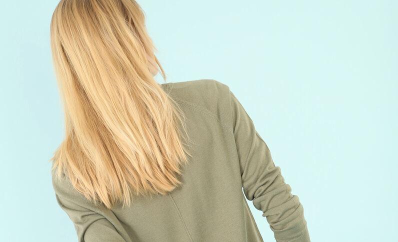 Jersey básico ligero verde