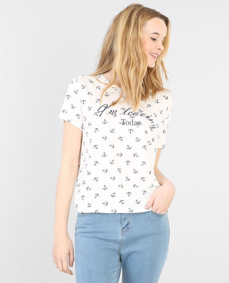 matrosen shirt mit anker motiv altwei 482158912i06 pimkie. Black Bedroom Furniture Sets. Home Design Ideas