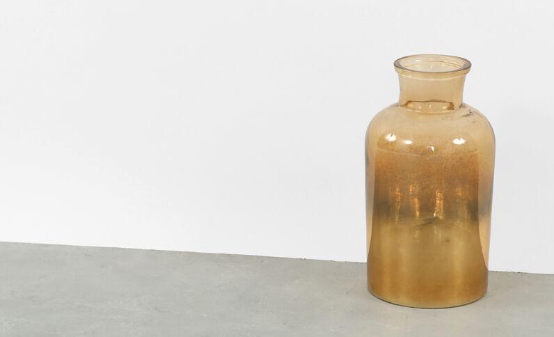 Vase dégradé marron