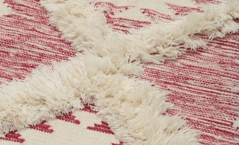 Berberteppich Rot