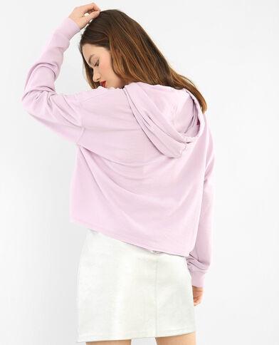 Kapuzen-Sweatshirt Violett