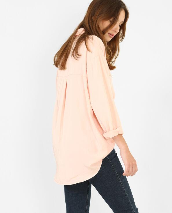 Camicia XL morbida rosa