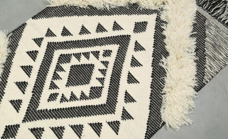 Berberteppich Grau