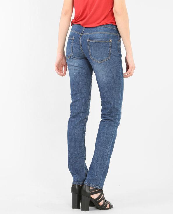 Jeans de corte recto azul