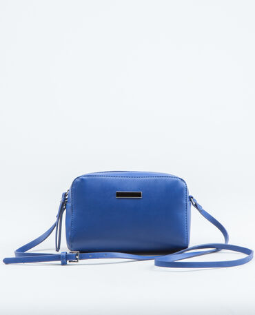 Borsa boxy blu elettrico