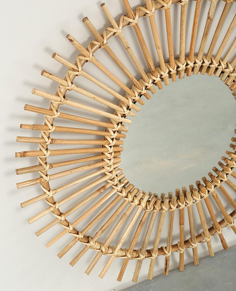 sonnen spiegel in peddigrohr 902206742a07 pimkie. Black Bedroom Furniture Sets. Home Design Ideas