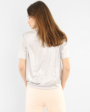 T-shirt irisé gris