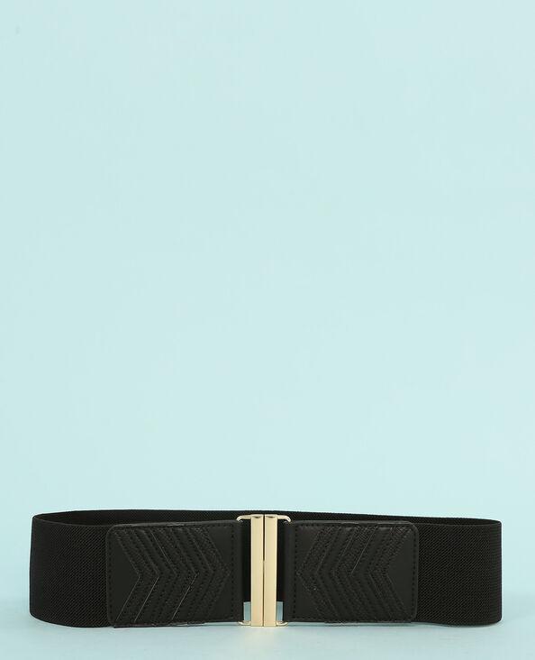 Cintura elástica negro