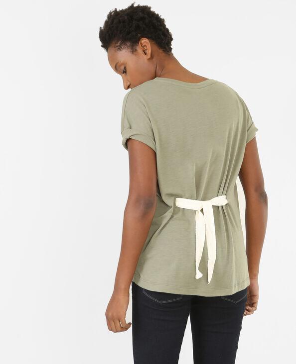 T-shirt da annodare verde