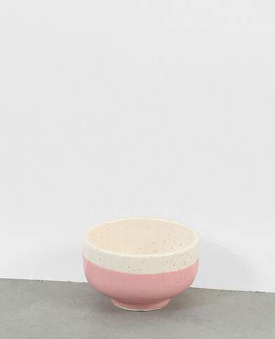 Gesprenkelte Keramikschale Rosa