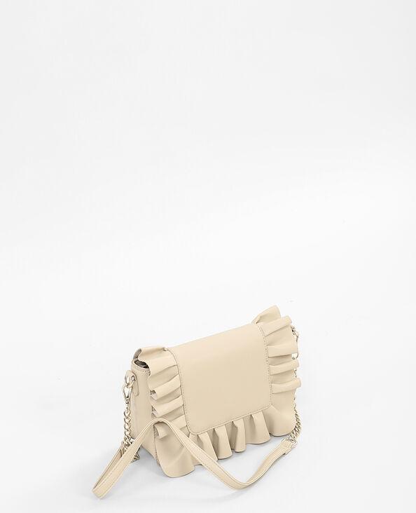 Boxy-Tasche Beige
