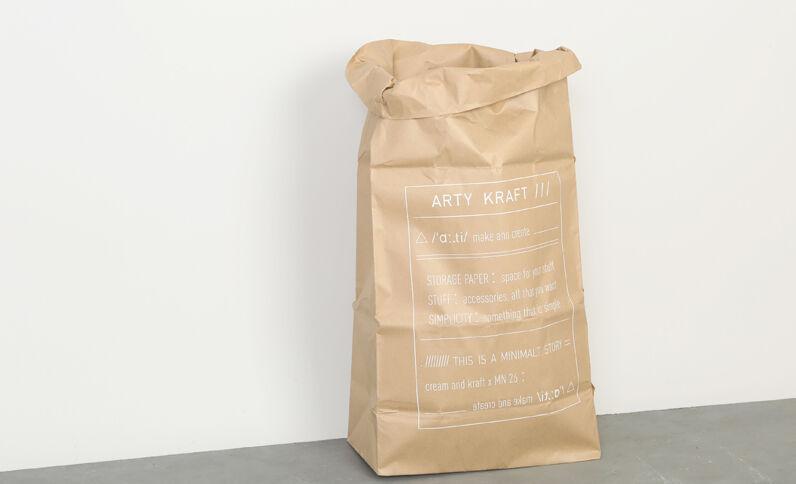 Bolsa de papel ARTY KRAFT Beige