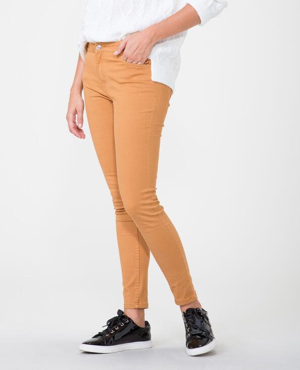 Push-up Skinny Jeans camel