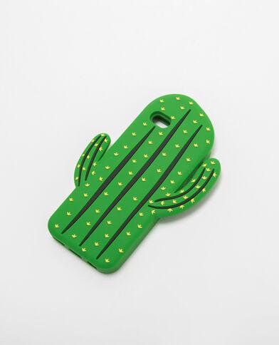 Custodia iPhone cactus verde
